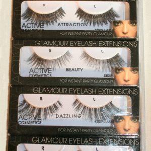 Active Cosmetics False Eyelash Multi-Pack