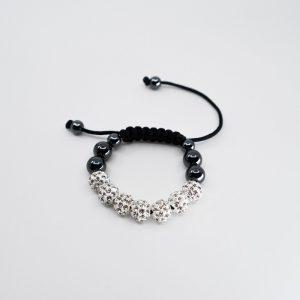 Children's Drawstring Bracelet with Glitterballs